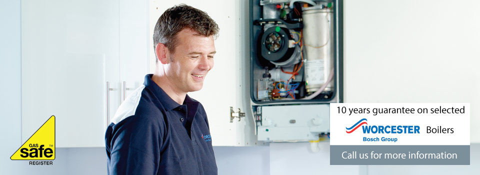 10 years guarantee on worcester boilers